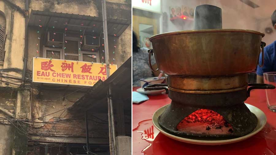 Eau Chew, believed to have been established in 1926, is famous for its Chimney Soup.