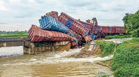 Four killed in Odisha rain; goods train derails in Angul