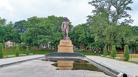 Statue of Birsa Munda  at Birsa Munda Museum at Ranchi.