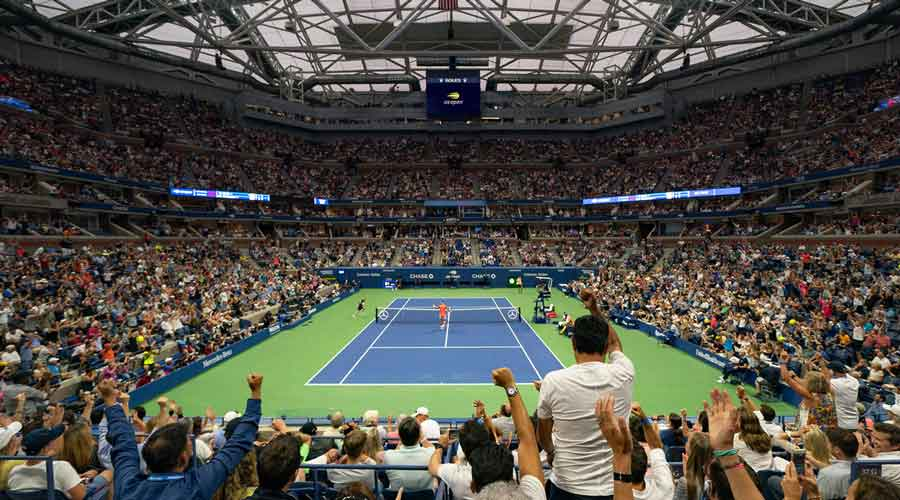 The crowds at the US Open have always been like this, but this year they just seemed louder: Chris Evert.
