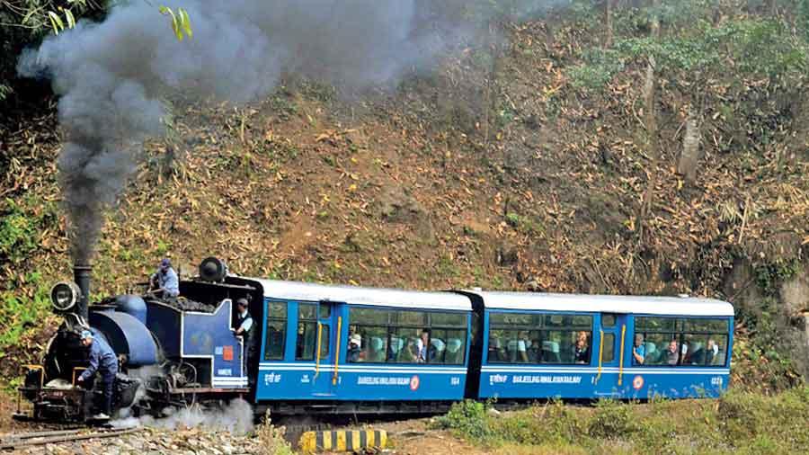 A DHR toy train.