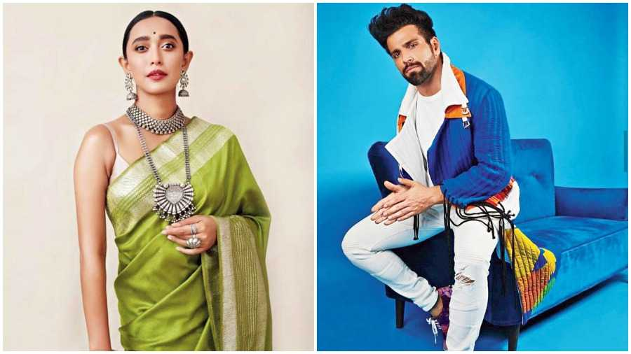 Actors Sayani Gupta and Rithvik Dhanjani