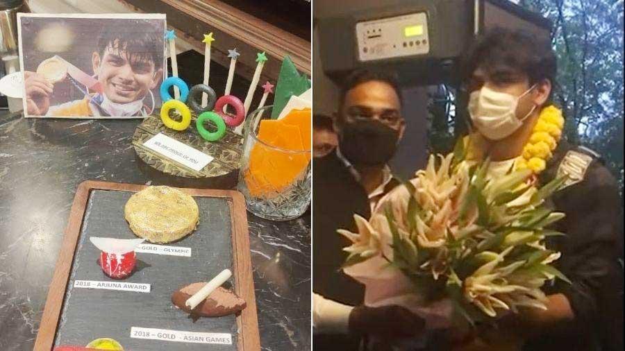 Neeraj Chopra floored by Kolkata's Baked Rosogolla and Mishti Doi