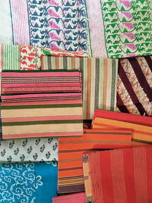 New saris received this year