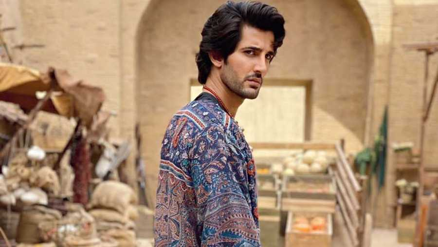 Aditya Seal as Humayun in The Empire