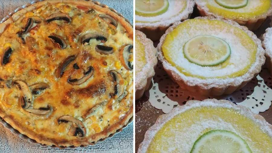 The quiche never gets old and the lemon tart is a classic.