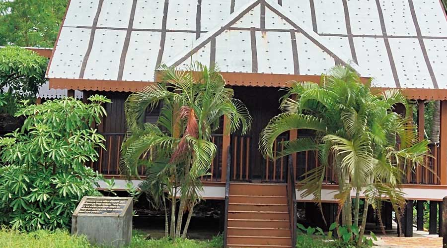 The renovated Beacon's Bungalow at Gosaba in South 24-Parganas.