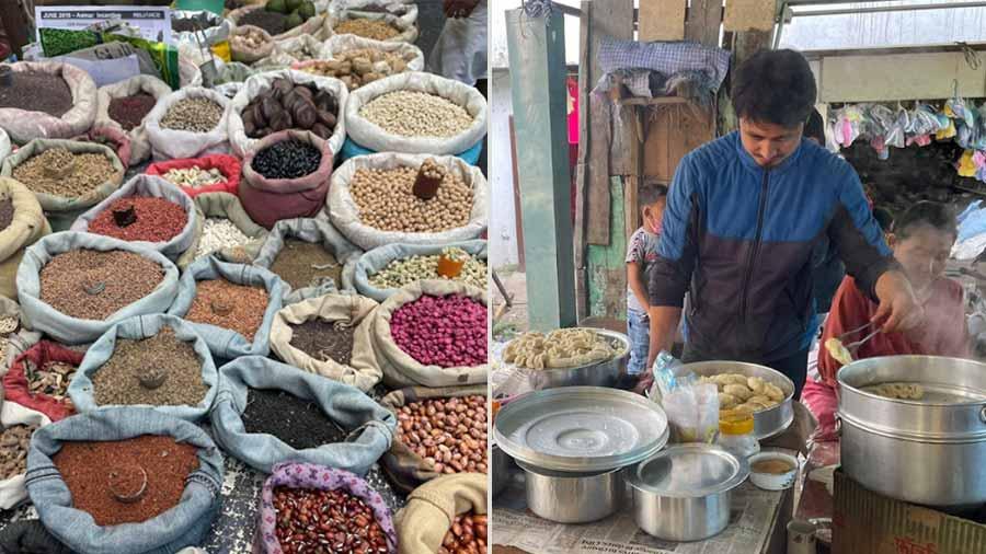 Kolkata has New Market and Kalimpong has the Haat Bazaar