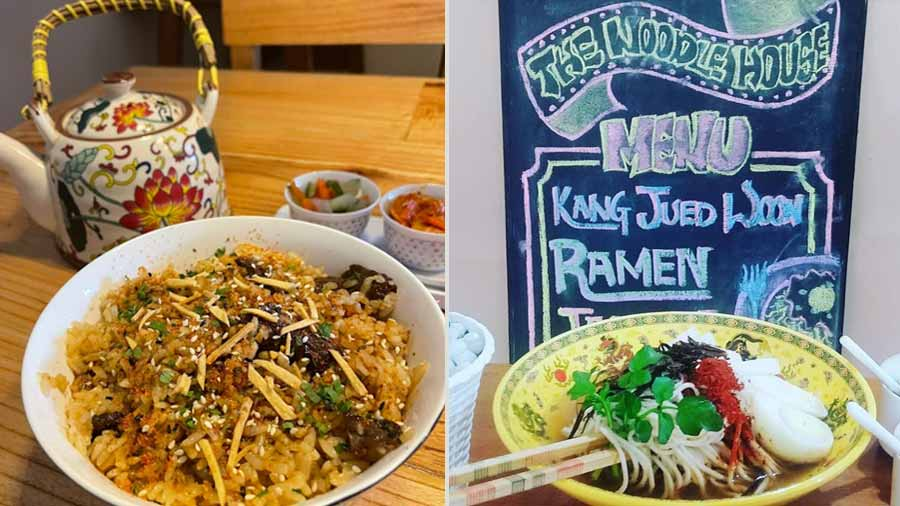 Best-sellers from the menu at The Noodle House