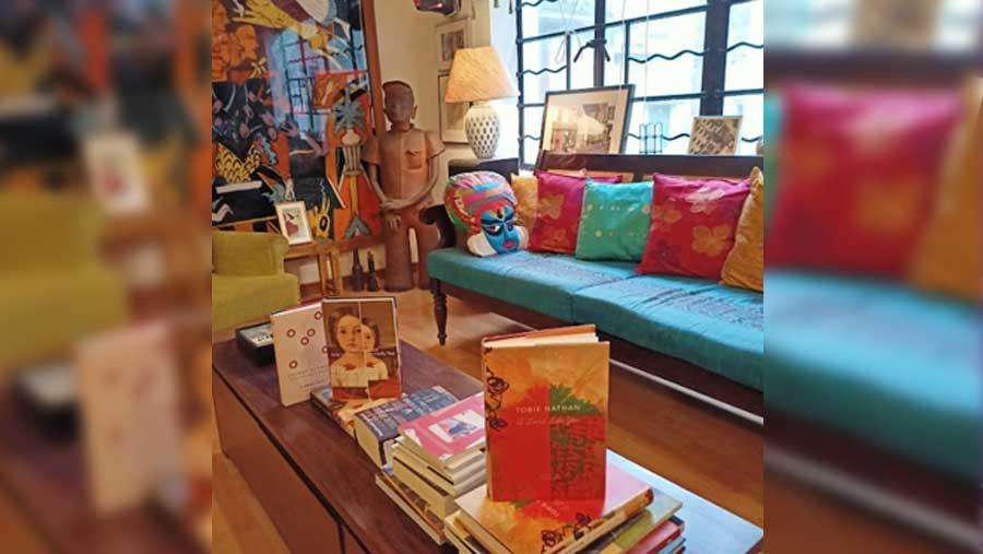 Inside the Seagull Bookstore on 36C, Shyama Prasad Mukherjee Road