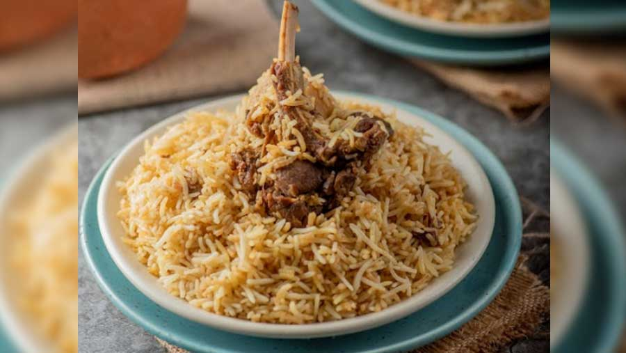 What's biryani without aloo, really!
