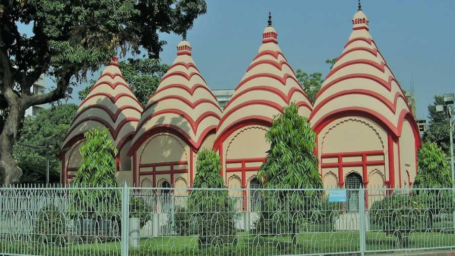 Dhakeshwari temple in Dhaka