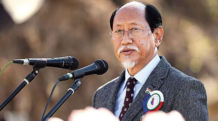 Nagaland chief minister Neiphiu Rio.
