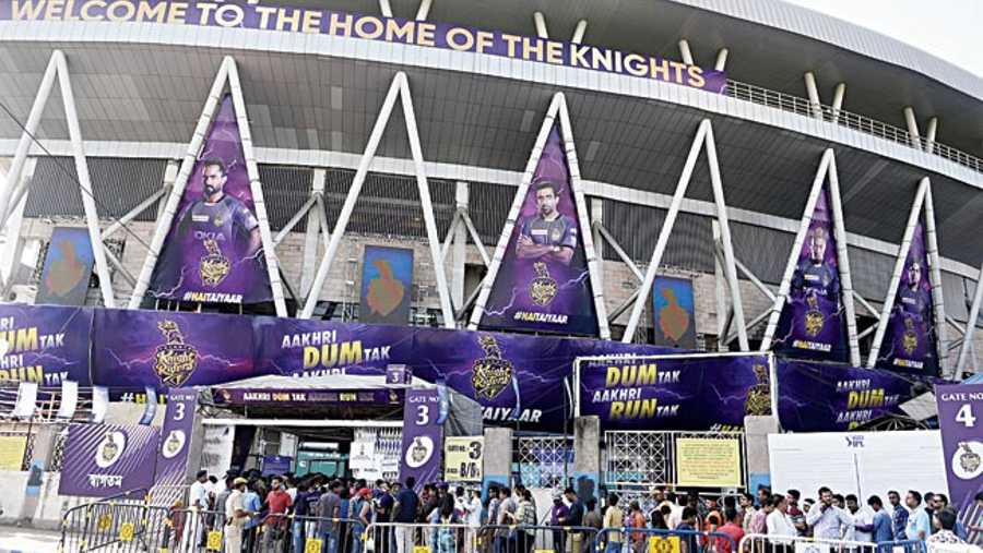 Eden Gardens, home of Kolkata Knight Riders, has not been an IPL 2021 venue and has been sorely missed by the team