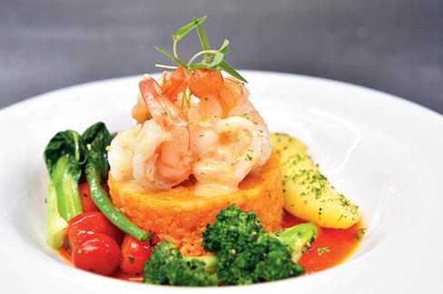 Healthy Bowl: Shrimp Bowl