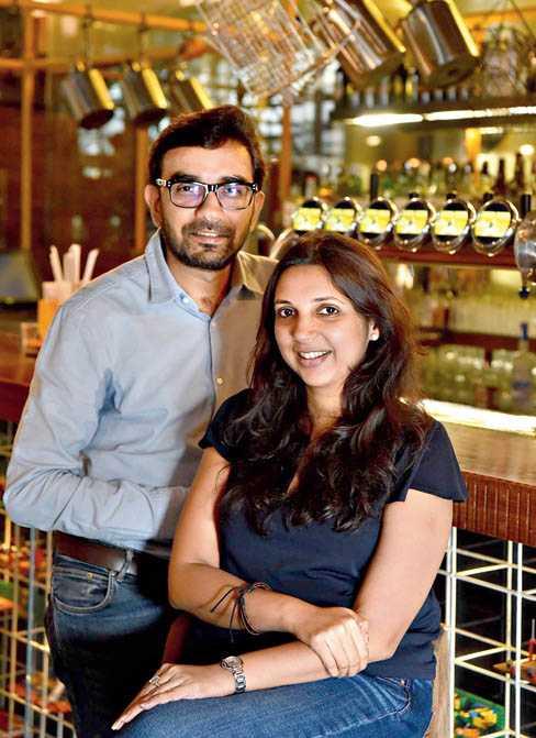Gaurav and Ritika Karnani