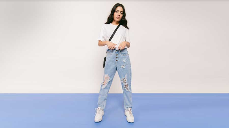 Carrot Jeans from Freakins