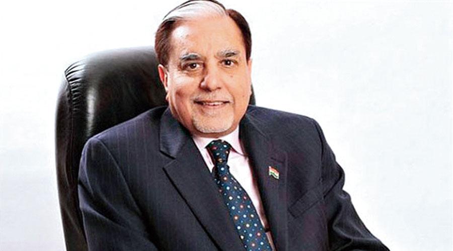 Zee founder Subhash Chandra.
