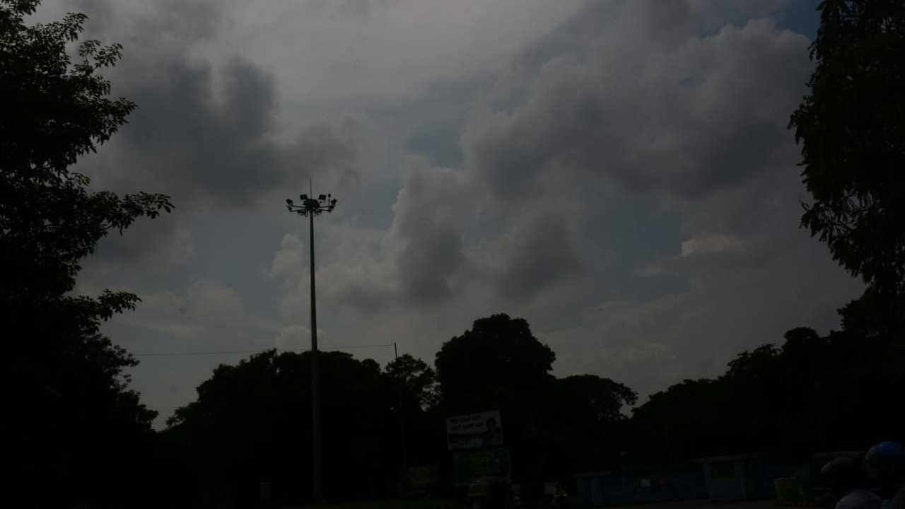 Patches of cloud over Jamshedpur on Thursday.