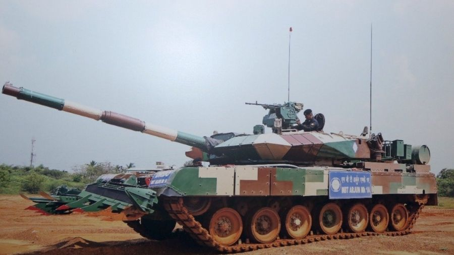The MBT Mk-1A is a new variant of Arjun Tank designed to enhance fire power, mobility and survivability, infused with 72 new features.