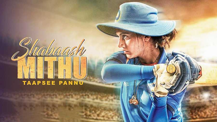 Taapsee Pannu in Shabaash Mithu