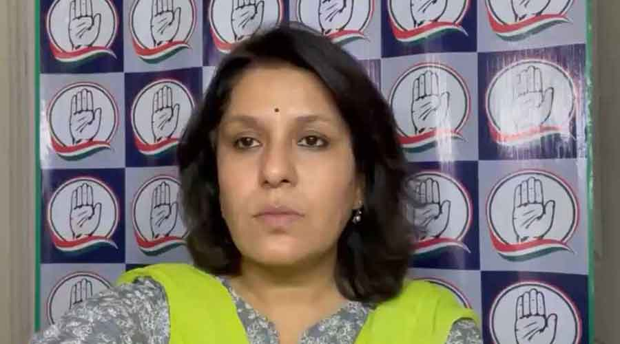 Supriya Shrinate said the Modi government has earned Rs 4 lakh crore from the people by taxing petroleum products last year alone.
