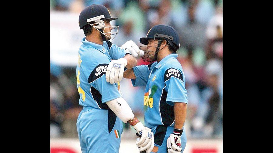 The Sachin-Sourav opening partnership was one of the most prolific in ODI cricket