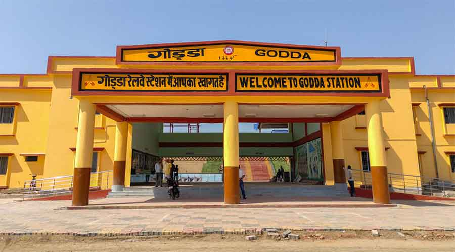 SER officials on Friday dubbed the development as a Durga puja gift to residents of Godda for whom a direct rail connectivity to Ranchi remained a long pending dream.