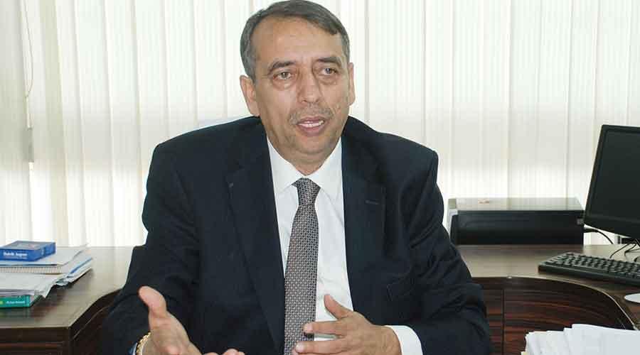 T.K. Lahiri, former CMD of BCCL, Dhanbad.