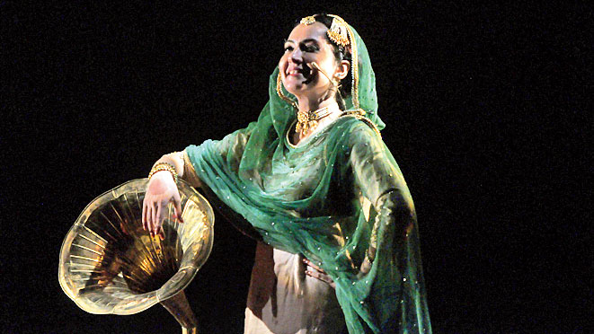A moment from the performance of 'My Name is Jaan'.
