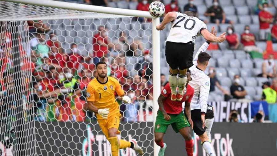 Portugal vs Germany in Euro Cup 2020