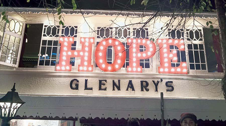 Glenary's in Darjeeling, the venue of the event.