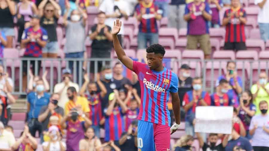 FC Barcelona's Ansu Fati
