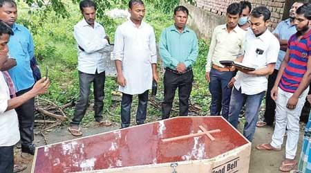 The burial of Nitish Kumar
