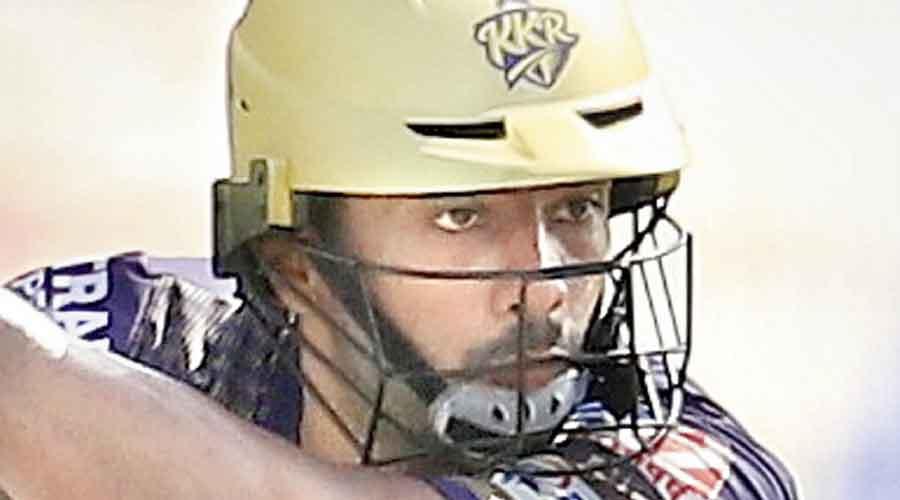 KKR's Rahul Tripathi.
