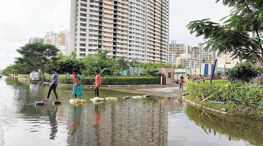 Rain water seepage cripples New Town water tanks
