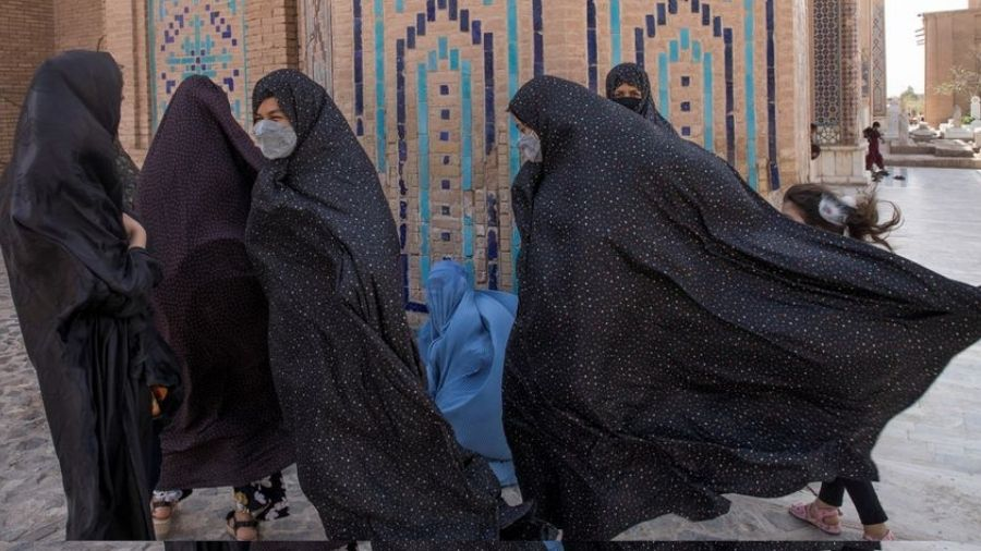 New policy another blow  to rights of Afghan girls.