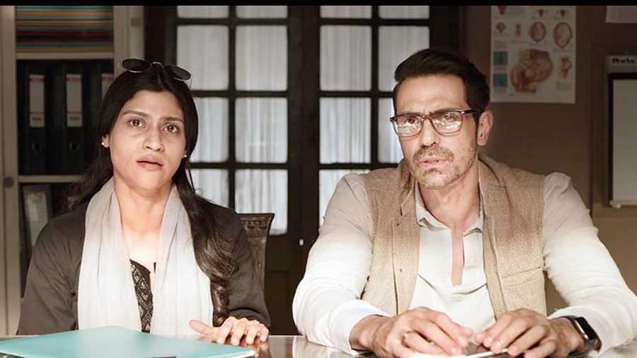 Konkona Sensharma and Arjun Rampal in Aparna Sen's The Rapist, co-produced by Applause Entertainment