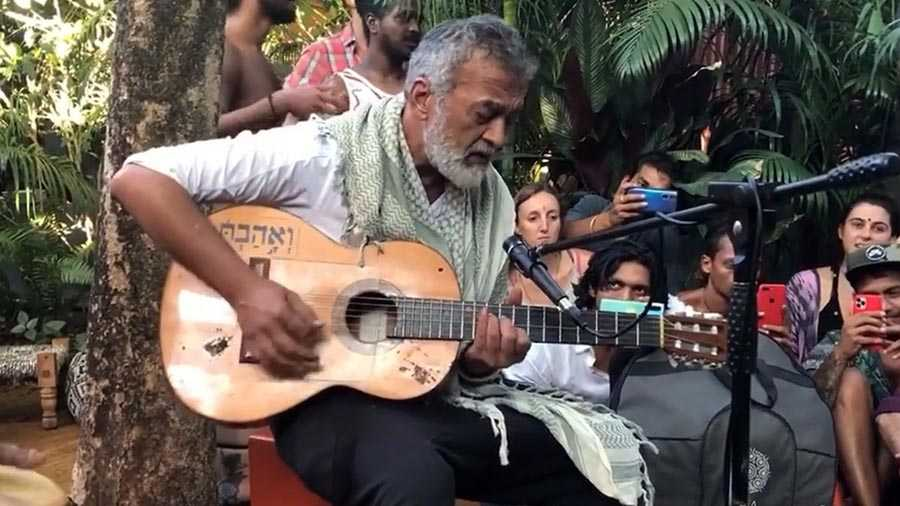 Lucky Ali singing his hit number O sanam at a music do in Goa last year became a viral sensation