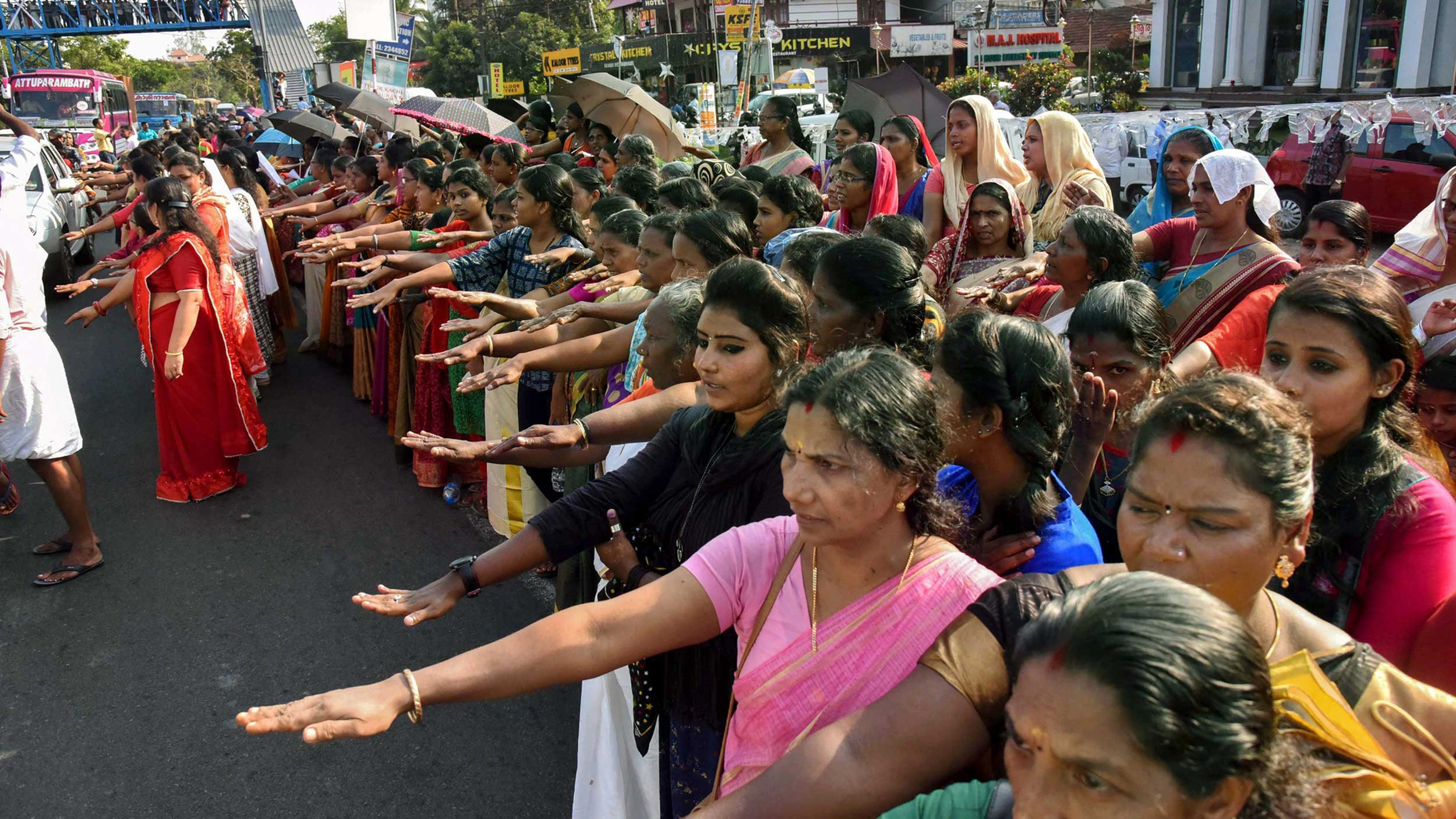 Sabarimala: 'Women's wall' could play formative role in future politics