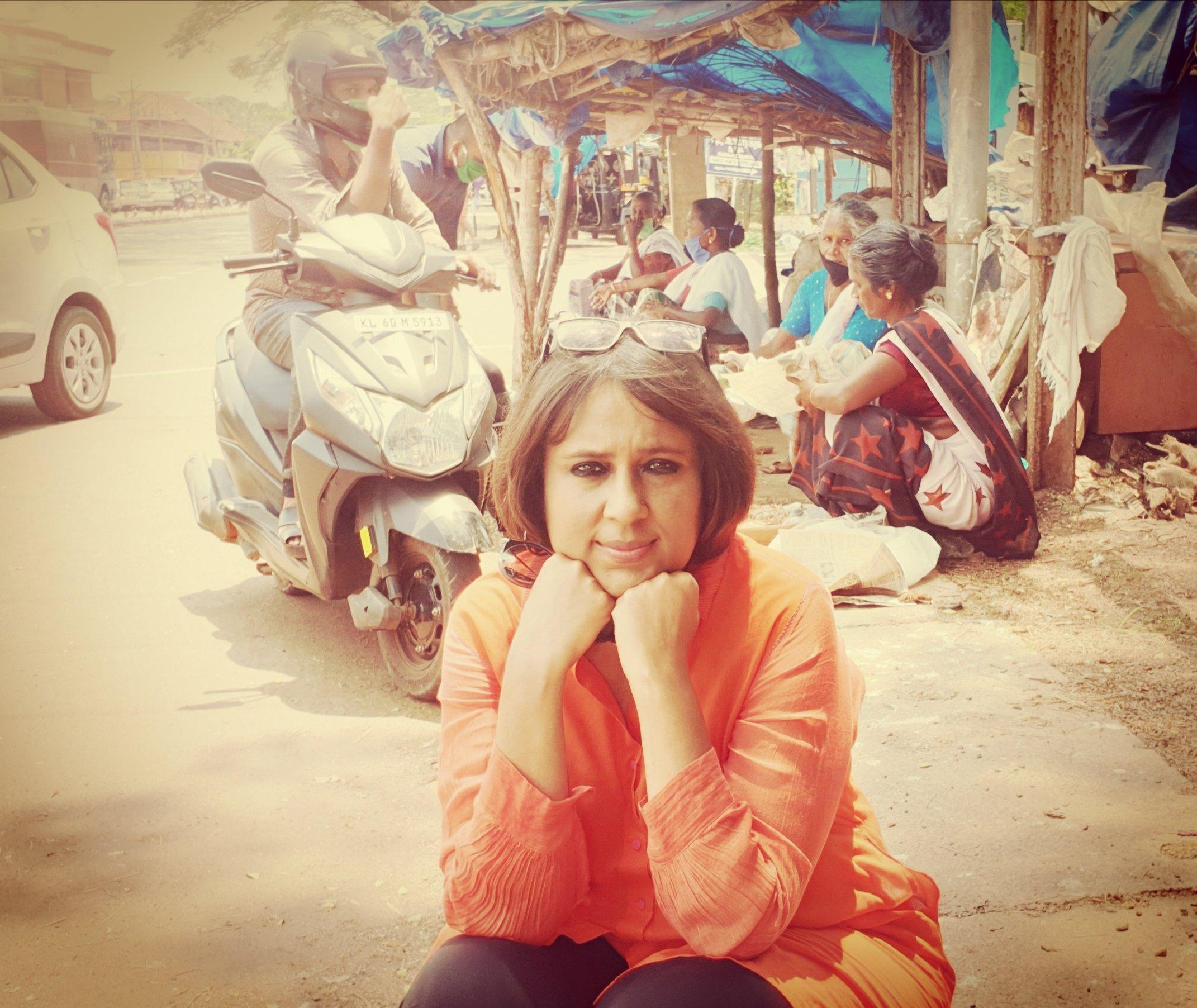 Barkha Dutt in Kasaragod