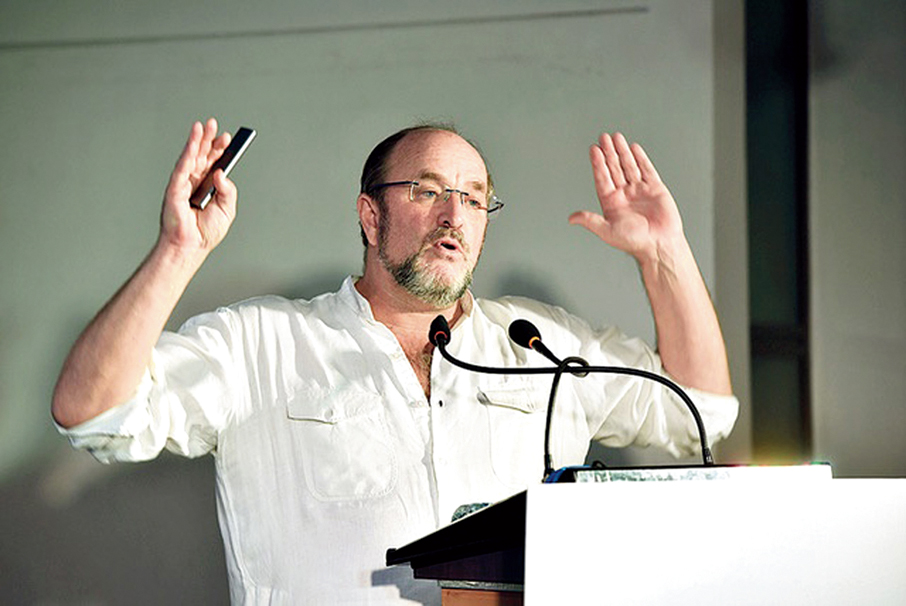 As the present changes, the view of the past changes with it and that is entirely legitimate as long as it is based on historical resources and not based on political, racial or religious prejudice: William Dalrymple