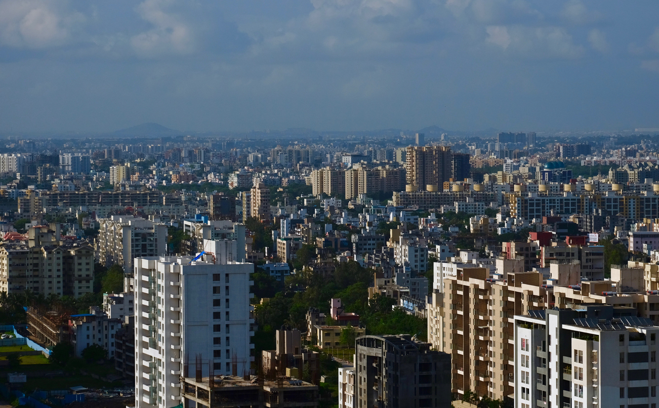 A view of Pune, Maharashtra. We need to realize that our urban systems must now become self-sustainable ecosystems.