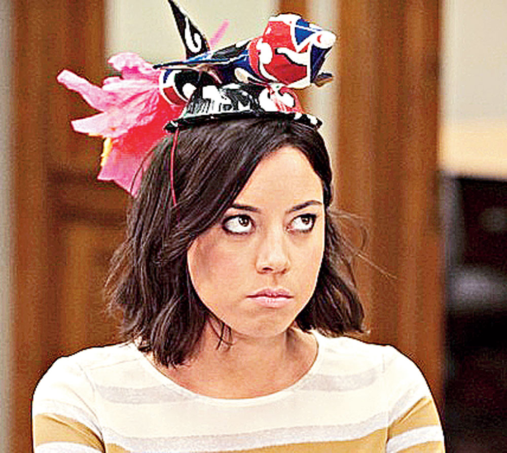 April Ludgate from Parks and Recreation