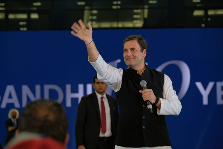 Congress leaders in Maharashtra have requested Rahul Gandhi to address four-five rallies in the state