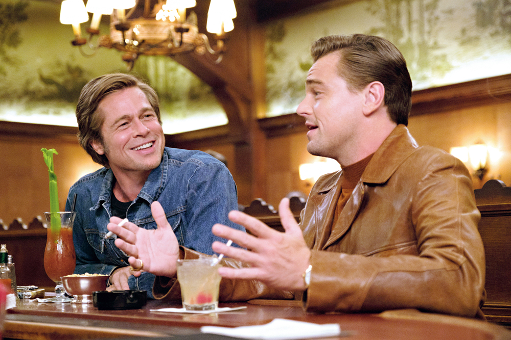 Brad Pitt and Leonardo DiCaprio in 'Once Upon A Time In... Hollywood'