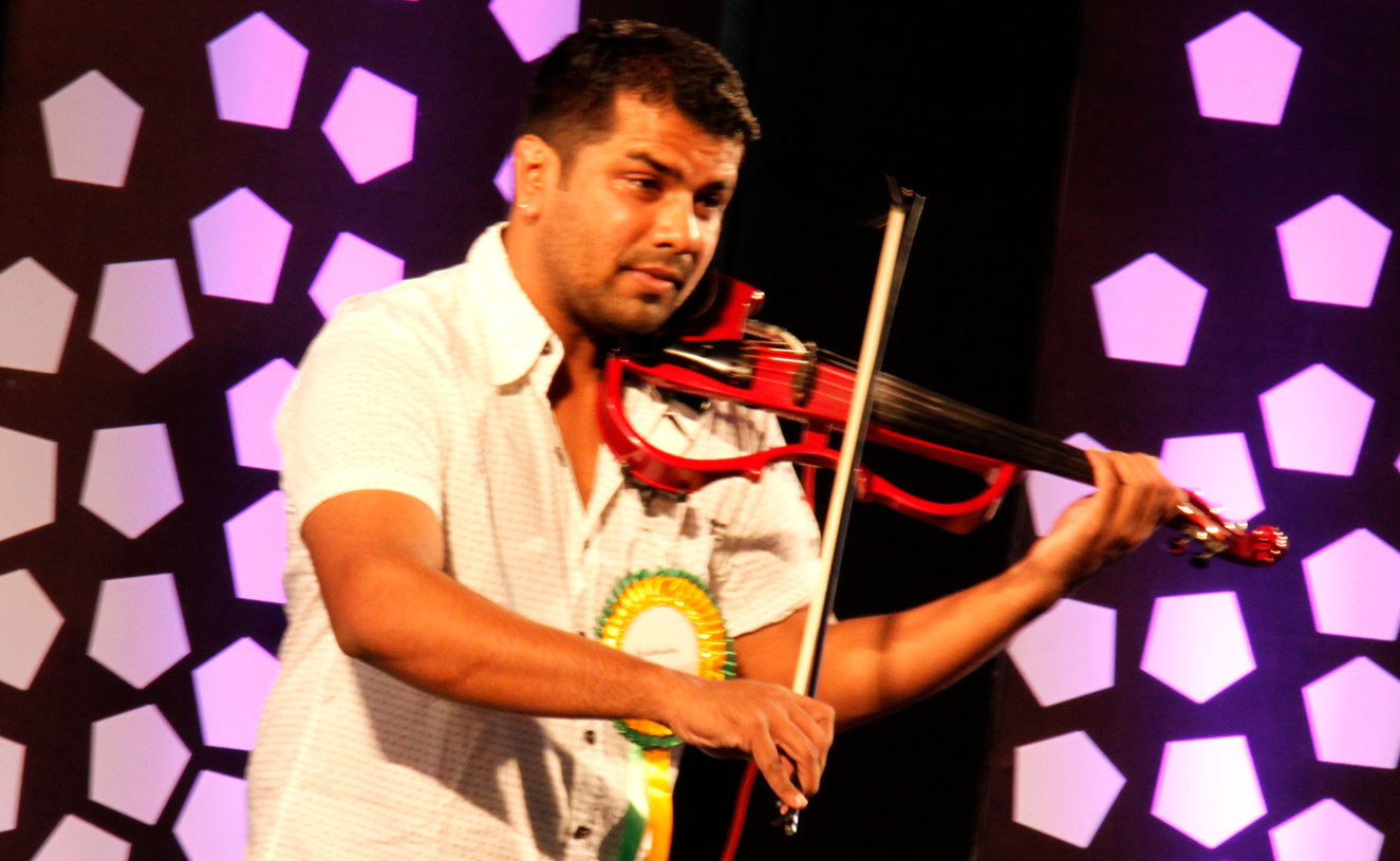 It didn't take too long for the police to find out that Thambi and Vishnu were part of Balabhaskar's (in picture) team.