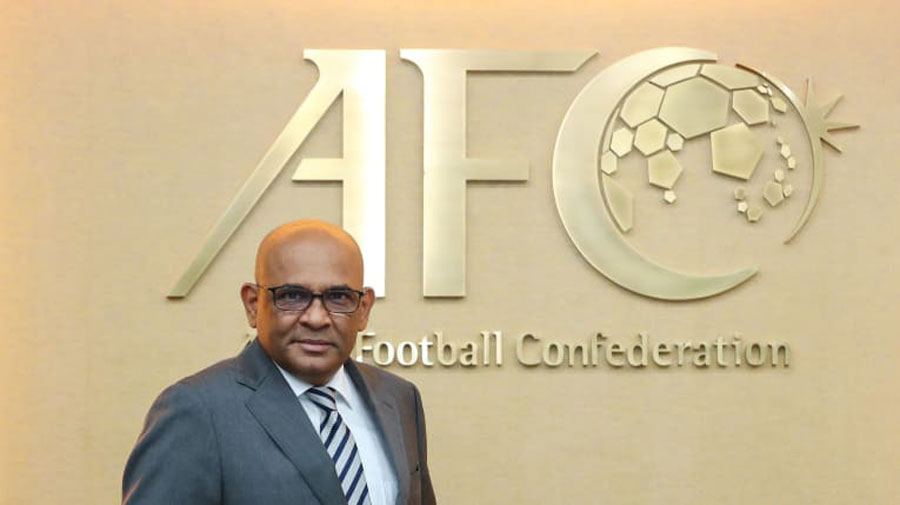 In a letter to the All India Football Federation, Dato Windsor John, general secretary, AFC wrote: