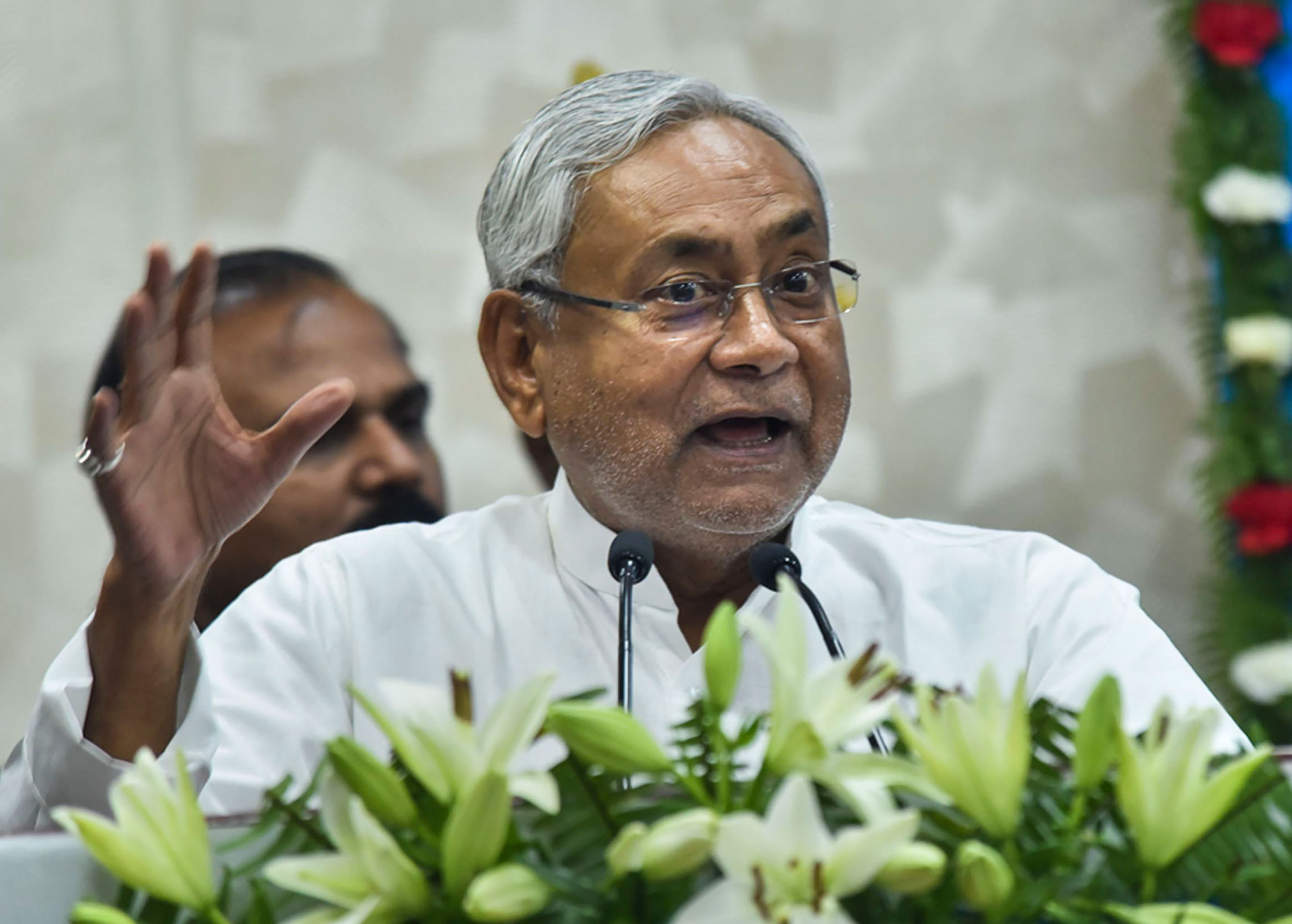 Chief minister Nitish Kumar appealed to the people of Bihar stranded in other states to stay put there as his government was determined to provide help to them during the lockdown.