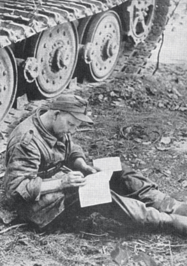 War pieces: A German soldier writing from the trenches